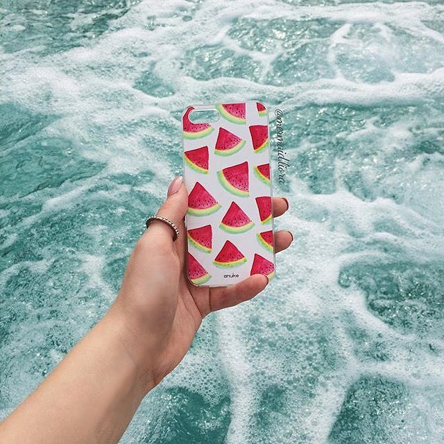 H2Omelon - iPhone and Samsung case - Anuke Design #anukedesign #iphonecase #samsungcase
