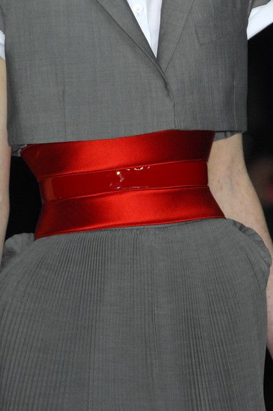Love the color, the sheen. Alexander McQueen. via Kim Russomanno Ryan