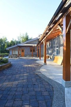 Quadra Island Community Centre - eclectic - exterior - vancouver - Fish House Designs