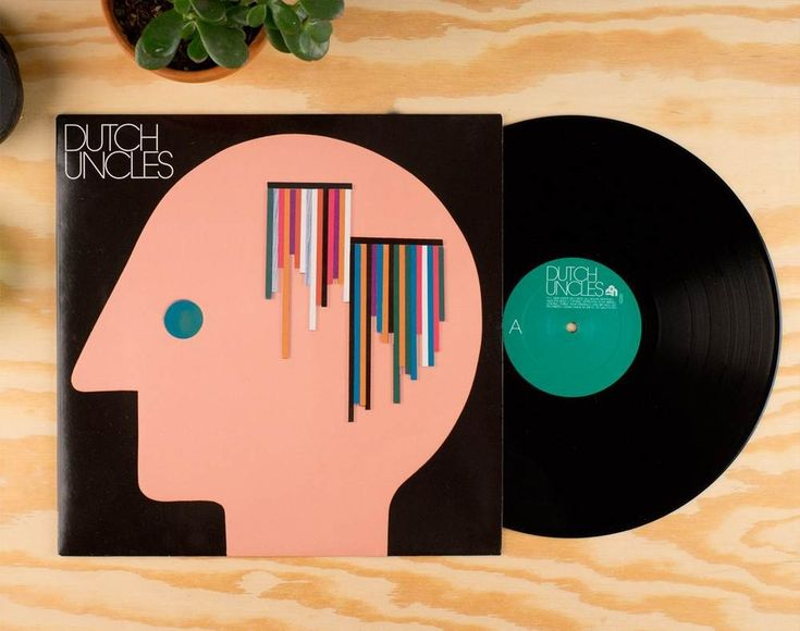 Record Cover Human Empire Studio has designed for the UK Band Dutch Uncles.
