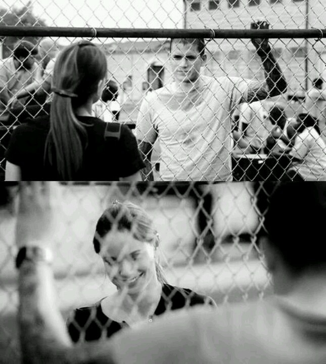 Prison Break. Michael and Sara - one of my all time favorite television couples.