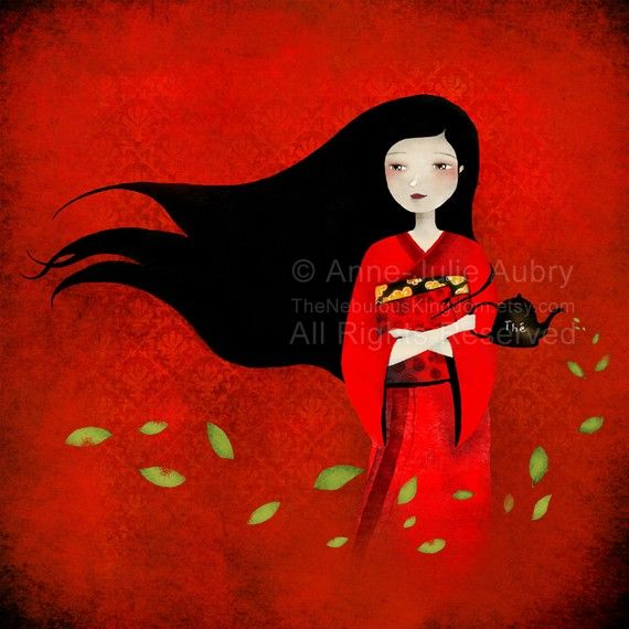 Already have some of this lady's wonderful art on my wall. I love her interpretations of different fairy tales.