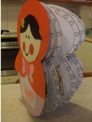...Το Νηπιαγωγείο μ' αρέσει πιο πολύ.: Ένα βιβλίο Μπάμπουσκα για τη μαμά μου