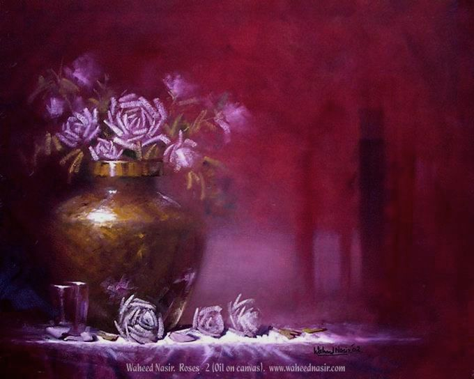 The Art of Waheed Nasir - Roses - 2