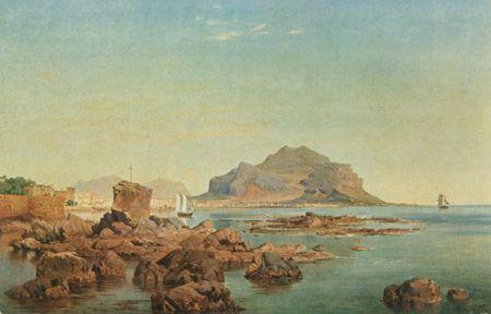 Louis Gurlitt, Palermo, Monte Pellegrino