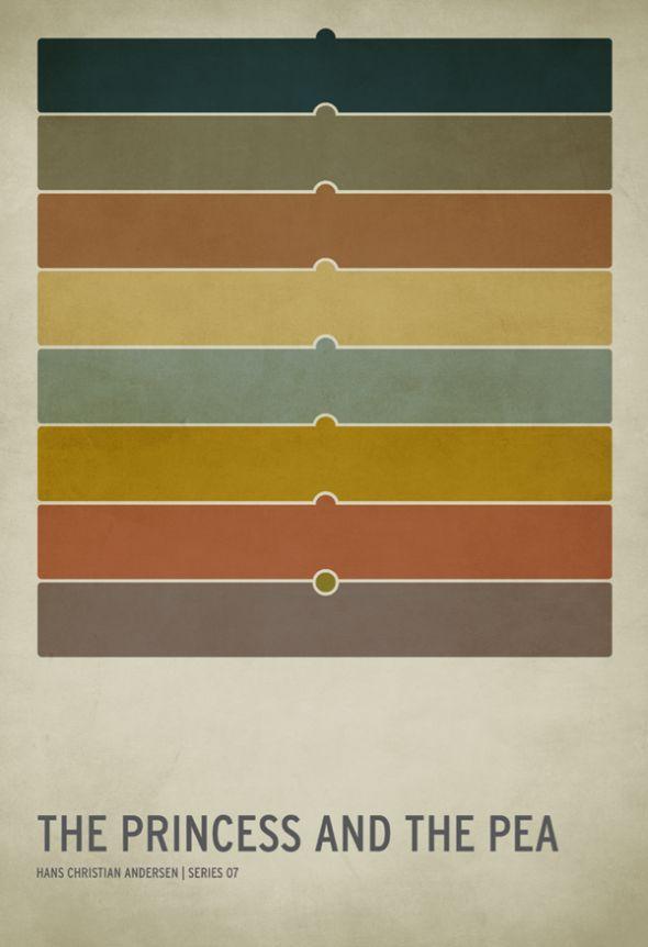 Mooie kleurencombinatie én grappige poster.