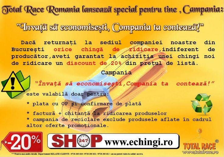 Promotie buy-back chingi de ridicare textile urechi / circulare Magazin online : www.echingi.ro