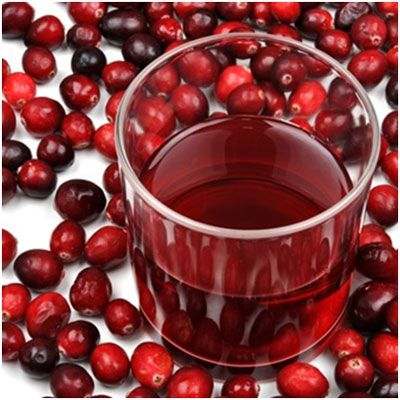 Cranberry Juice: Soothes inflammation, aids weight loss, boosts immunity, treats acne & promotes hair growth!!