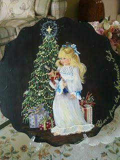 Jennifer Atkinson's Folkart-Decorative Painting Affair: 05 September 2011