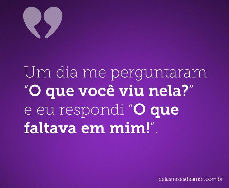 Belas Mensagens: 17 Best Images About Belas Frases De Amor On Pinterest