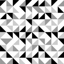 Motifs graphiques diy noir et blanc motifs pinterest - Carrelage motif geometrique ...