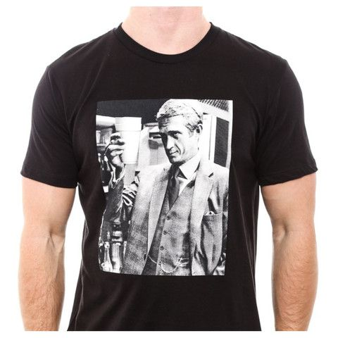 Dope Couture- Steve McQueen Sippin Lean Tee (Black)