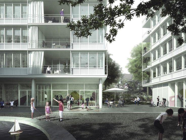 EM2N . Wollishofen housing . Zurich (2)