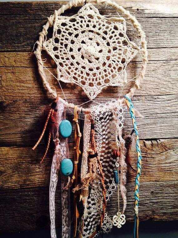 1000+ images about Crochet Dream Catchers on Pinterest Feathers, The ...