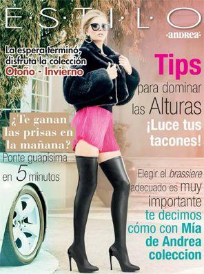 revista andrea otoño invierno 2014