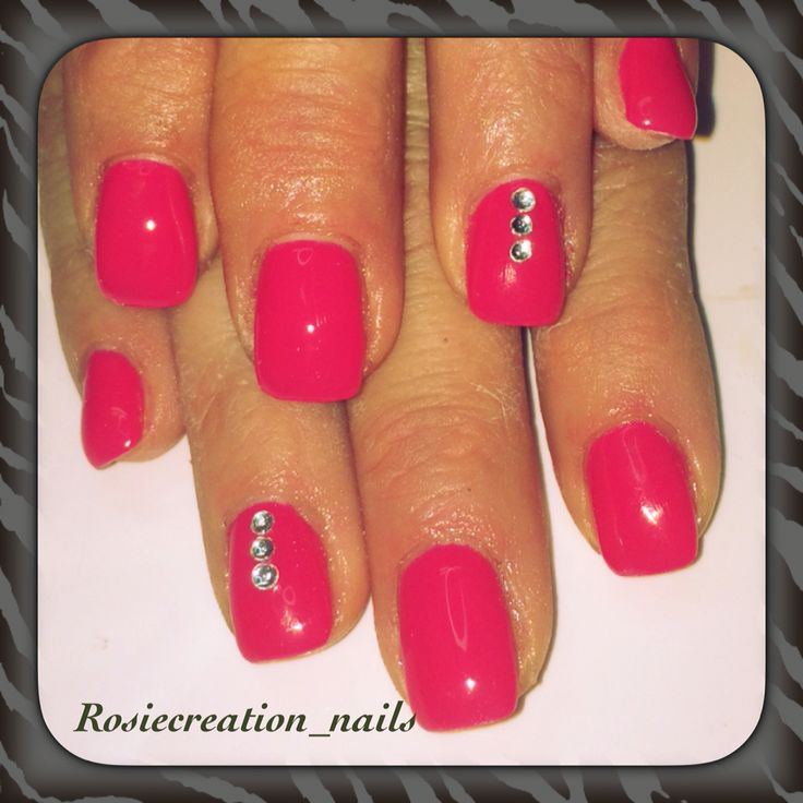 Awesome pink gel .