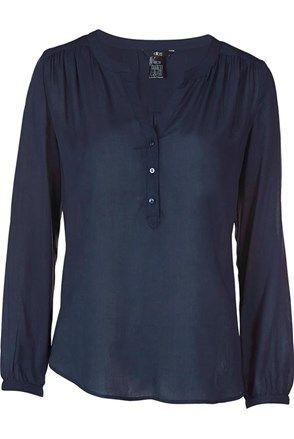 Bluză, bleumarin