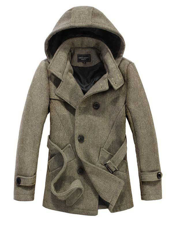 L&C Fall/Winter 2013: The Reed Hooded Short Trench ...