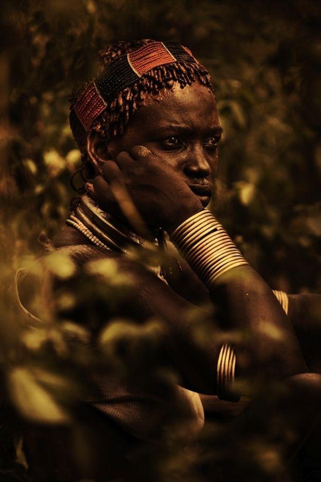 visitando africano facial
