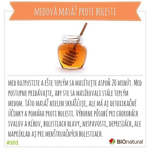 Domáca masáž s medom #diy
