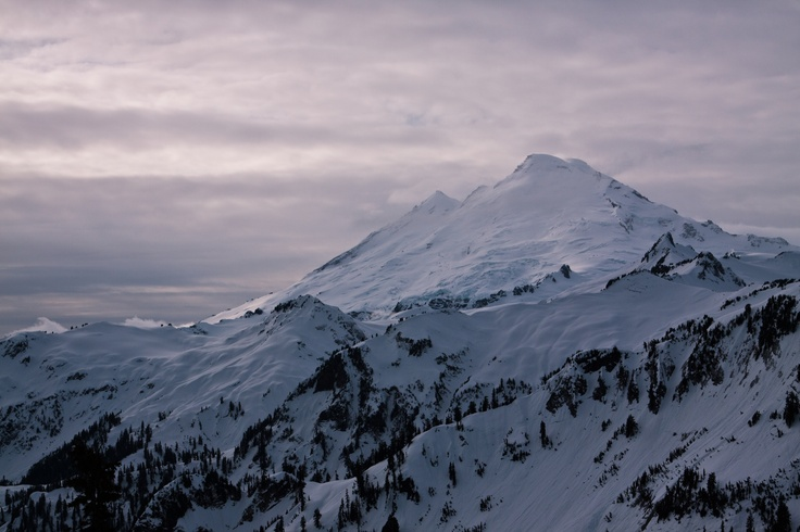 Mt Baker, Washington, USA. Home of the legendary banked slalom and road gap.