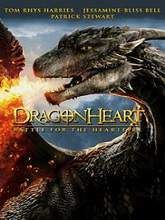 Dragonheart Battle for the Heartfire Full Movie Story line: Patrick Stewart voices Drago, the magnificent dragon who became bonded with King Gareth. When the king dies, his potential heirs, twin grandchildren who possess the dragon's unique strengths, use their inherited powers against each other to vie for the throne.