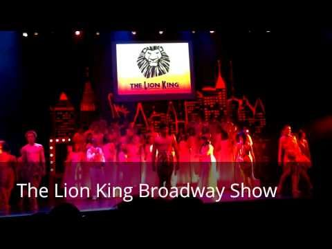 The Lion King Broadway Show Schedule 2015 & Tickets