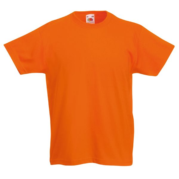 Fruit Of The Loom Childrens Valueweight T-Shirt. Print these with your logo  and