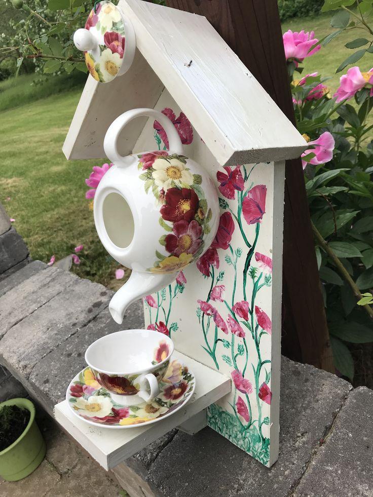 Tea Cup Bird House