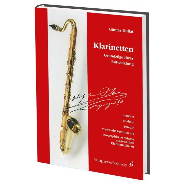 Klarinetten - Grundzüge ihrer Entwicklung, 76,00 €