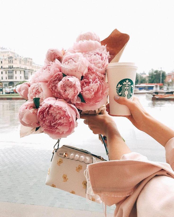 Красивые картинки для инстаграмма в розовом цвете