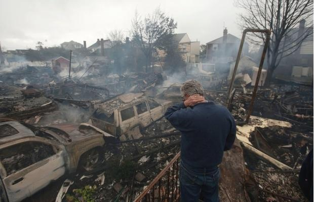 Photos: Hurricane Sandy leaves devastation, death in its path