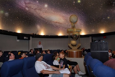 Star Gazing at the Clever Planetarium in Stockton