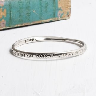 DANCE As Though No One Is Watching You Bangle at www.capricci.nl