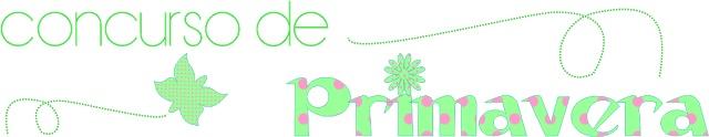 Concurso de Primavera de El Perro de Papel: handmade, costura, gastronomía y diseño gráfico. ¿Participas? ¡¡Estupendos premios!!
