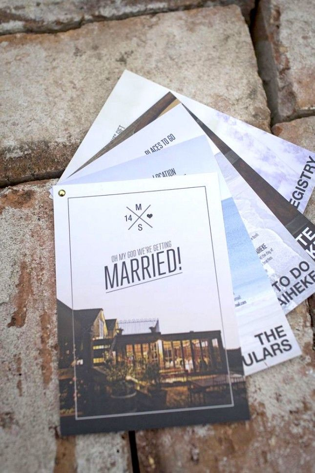 21 of the most creative wedding invitations ever - Unique Wedding Invitation Ideas