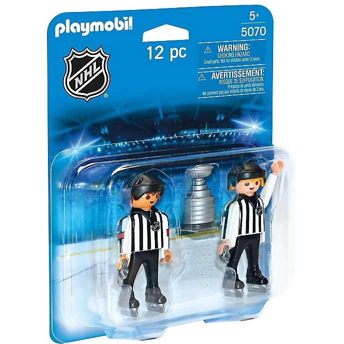 Playmobil 5070 NHL® Referees with Stanley Cup®
