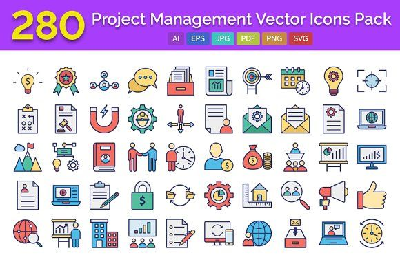 Project Management Vector Icon In 2020 Printable Calendar Template Vector Icons Icon Pack