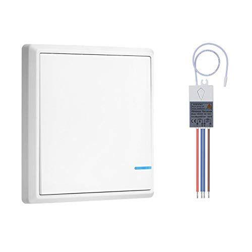 Dofoou Wireless Light Switch Kit Remote Light Switch Fo Https Www Amazon Com Dp B07d6kx4sw Ref Cm Remote Light Switch Wireless Light Switch Light Switch
