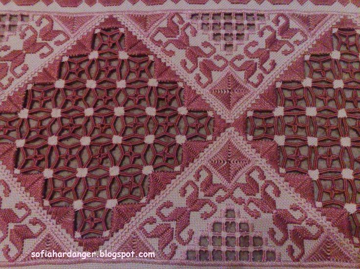 Hardanger Embroidery Handmade