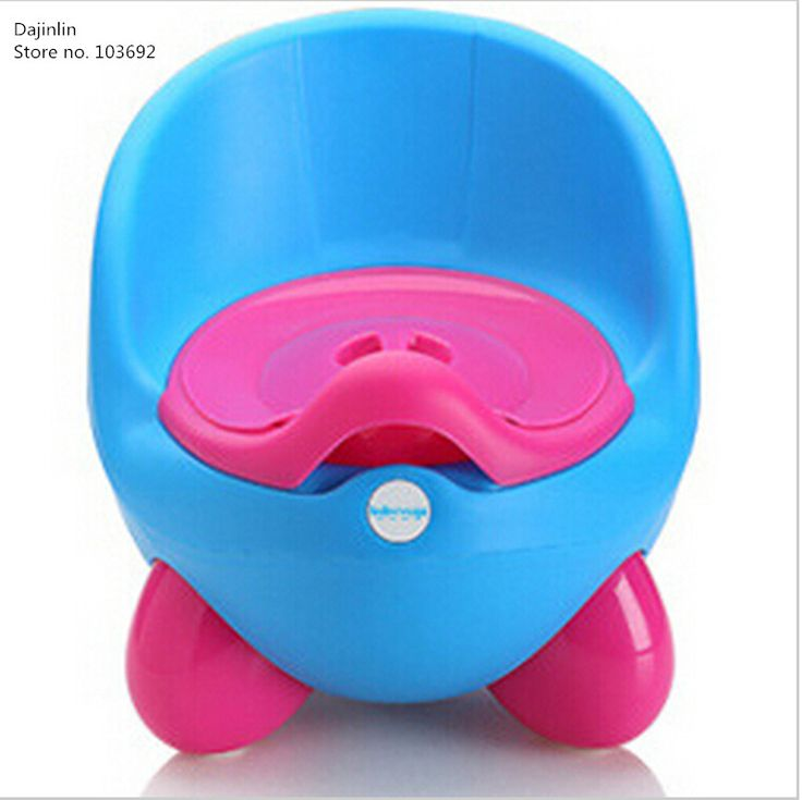 Da Baby Potty Training Toilet Plastic Non-slip Kids Toilet Seat Foldable Protable Travel Potty Chair Infant Children Pee Trainer