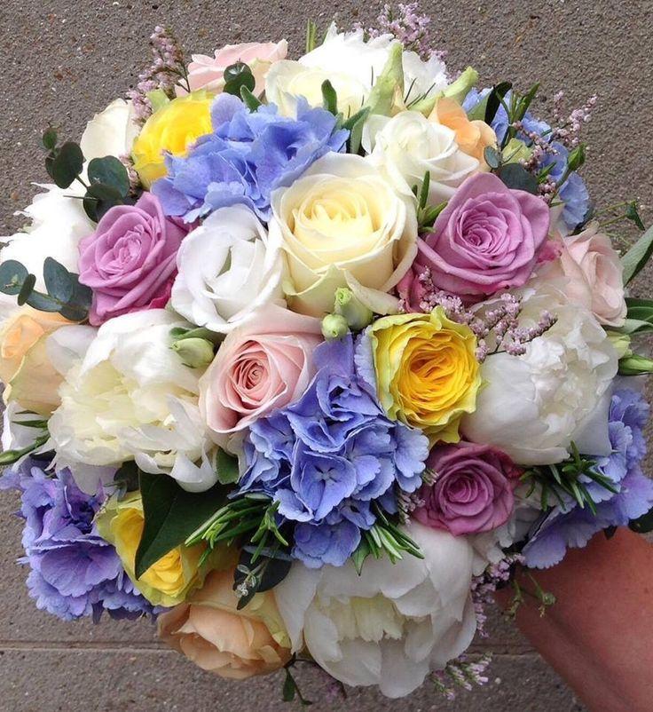 16 best Blue Bouquets images on Pinterest | Blue flowers bouquet ...