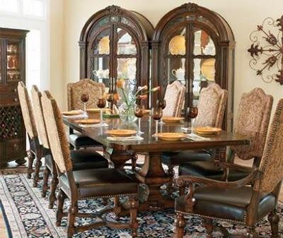Tuscan Villa Dining Room By Bernhardt.