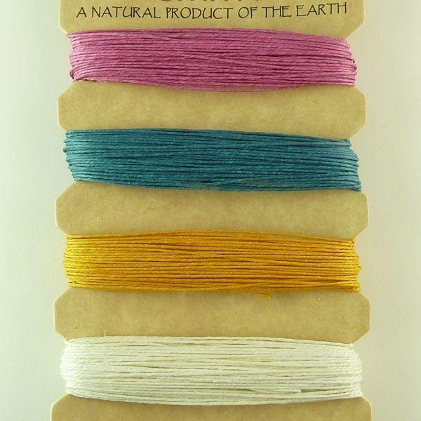 Hemp Cord 10lb : Spring Colours
