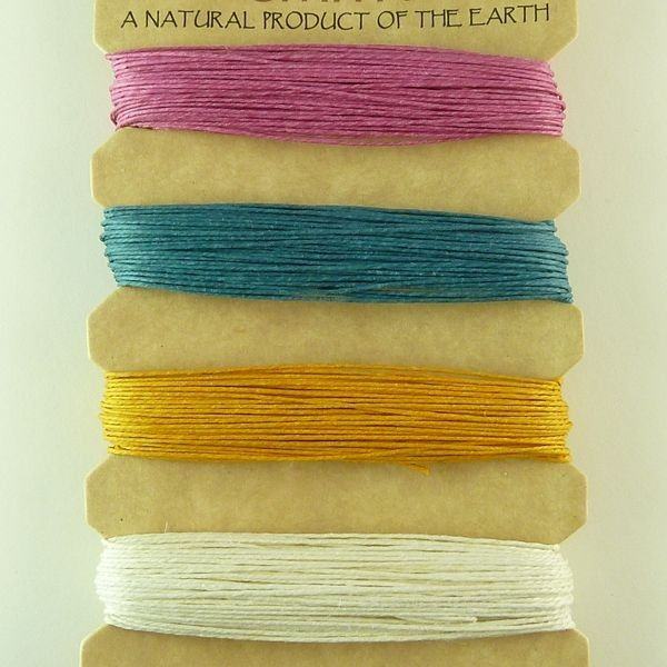 Hemp Cord 10lb : Spring Colours