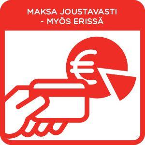 Anttilan erämaksulla voit maksaa tuotteet pienissä erissä.  Anttilan erämaksulla saat Anttilasta ja NetAnttilasta ostamillesi vähintään 29,90 euron hintaisille tuotteille 20 päivää korotonta maksuaikaa. Erämaksutuotteita voit maksaa kuvastossa ilmoitetuissa kuukausierissä (kertaluotto). Luoton antaja on Anttila Oy.