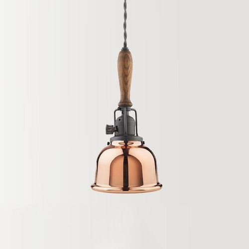 (via Wiley Industrial Cord Pendant – Polished Copper | west elm)