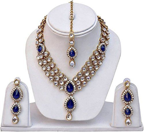 Blue Stone Indian Bollywood Gold Plated Traditional Ethni... https://www.amazon.com/dp/B01N4QXM6F/ref=cm_sw_r_pi_dp_x_92wOybDAN53VC