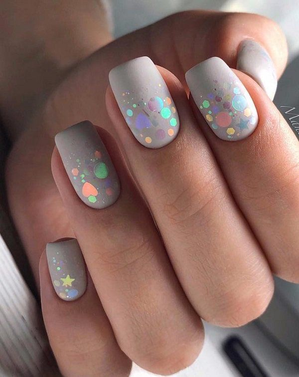 Cosmos On Your Nails Discreet Details And Unrivaled Colors Do Not Diminish Beauty Sometimes What Is Discreet Is The Most Nail Designs Pretty Nails Gel Nails