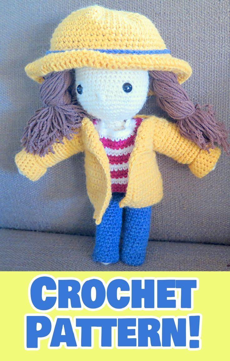 Honey Pie Amigurumi Dress-Up Doll with Picnic Play Set: Crochet ...   1156x736